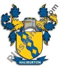 Escudo del apellido Haliburton