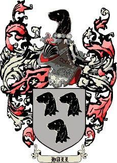 Escudo del apellido Hall