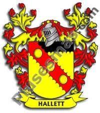 Escudo del apellido Hallett