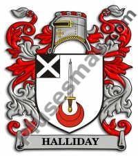 Escudo del apellido Halliday