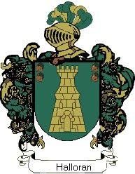 Escudo del apellido Halloran