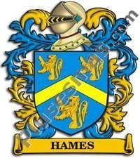 Escudo del apellido Hames