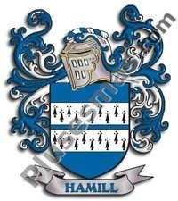 Escudo del apellido Hamill