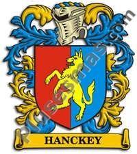 Escudo del apellido Hanckey