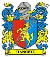Escudo del apellido Hanckie