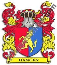 Escudo del apellido Hancky