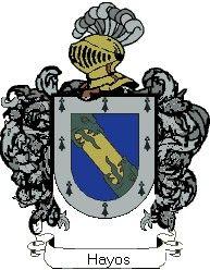 Escudo del apellido Hayos