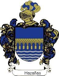 Escudo del apellido Hazañas