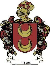 Escudo del apellido Hazas