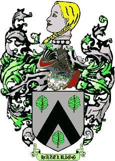 Escudo del apellido Hazelrigg