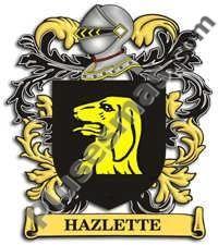 Escudo del apellido Hazlette