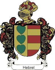 Escudo del apellido Hebrel