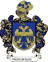 Escudo del apellido Hector de busto