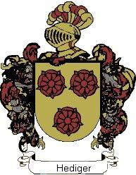 Escudo del apellido Hediger