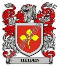 Escudo del apellido Heiden