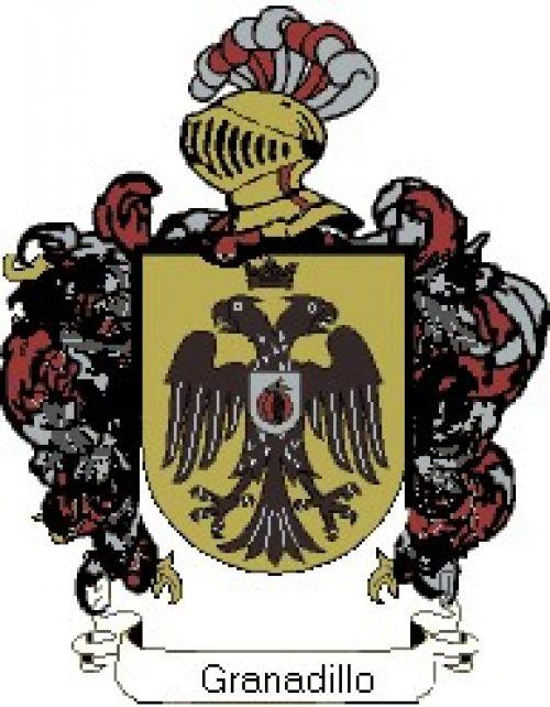 Escudo del apellido Granadillo