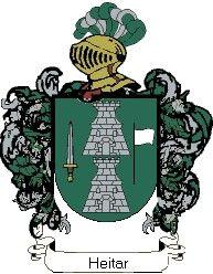 Escudo del apellido Heitar