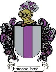 Escudo del apellido Hernández -ladreda