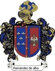 Escudo del apellido Hernández de alba