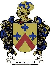 Escudo del apellido Hernández de castro