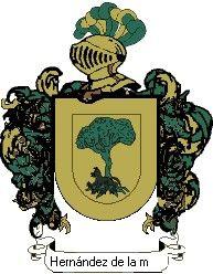 Escudo del apellido Hernández de la mora