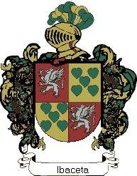 Escudo del apellido Ibaceta