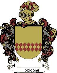 Escudo del apellido Ibaigane