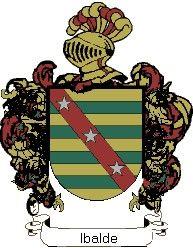 Escudo del apellido Ibalde