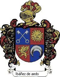 Escudo del apellido Ibáñez de aedo