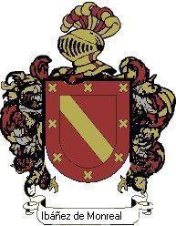 Escudo del apellido Ibáñez de monreal