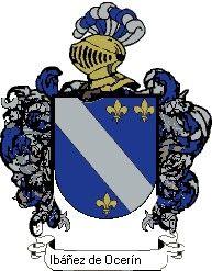 Escudo del apellido Ibáñez de ocerín
