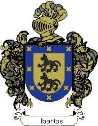 Escudo del apellido Ibantos