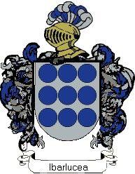 Escudo del apellido Ibarlucea