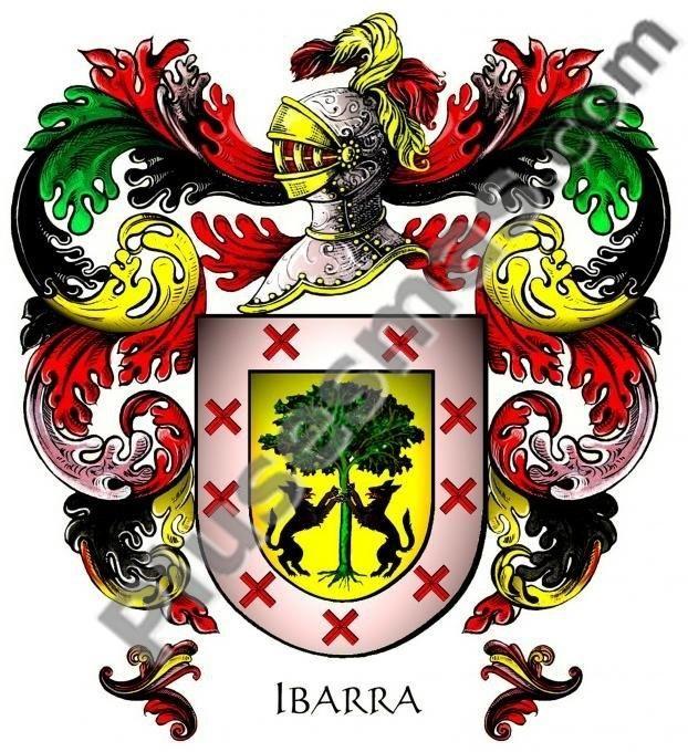 Escudo del apellido Ibarra