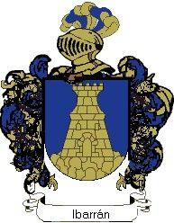 Escudo del apellido Ibarrán