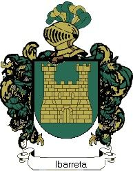Escudo del apellido Ibarreta