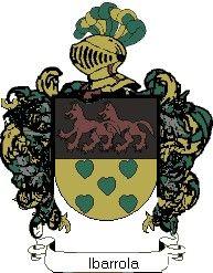 Escudo del apellido Ibarrola