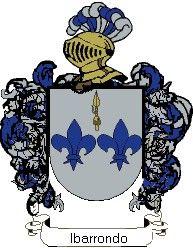 Escudo del apellido Ibarrondo