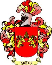 Escudo del apellido Ibars o ibarz