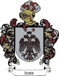 Escudo del apellido Ibata