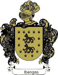 Escudo del apellido Ibengas