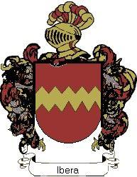 Escudo del apellido Ibera