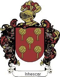 Escudo del apellido Inhescar