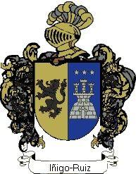 Escudo del apellido Iñigo-ruiz
