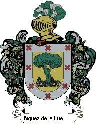 Escudo del apellido Iñiguez de la fuente
