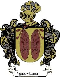 Escudo del apellido Iñiguez-abarca
