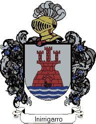Escudo del apellido Inirrigarro