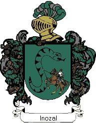 Escudo del apellido Inozal