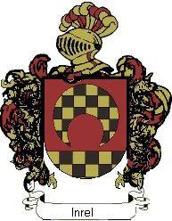 Escudo del apellido Inrel
