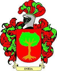 Escudo del apellido Inria